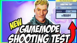NEW SHOOTING MODEL TEST GAMEMODE!!!! - FORTNITE