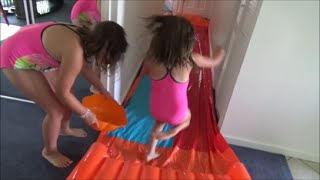 "Slip n Slide In The House ""Victoria Annabelle Freak Daddy""  Toy Freaks Family"