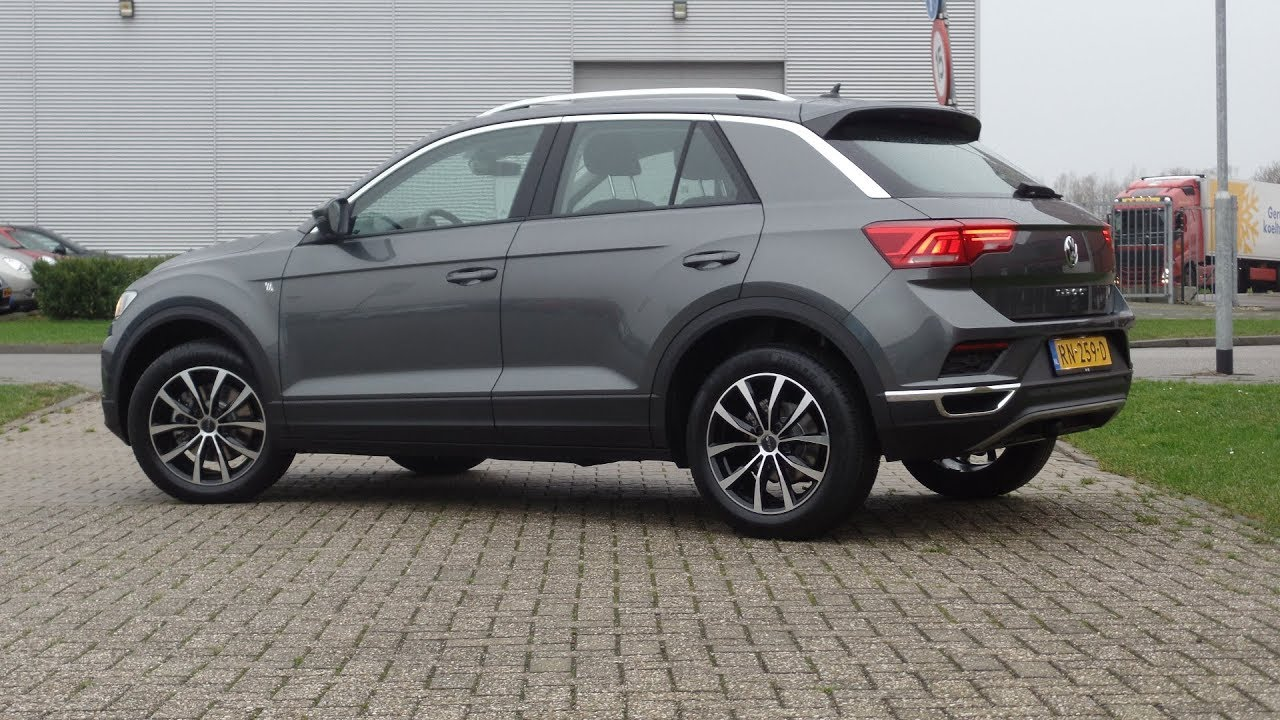 Volkswagen new t roc 2018 style indium grey metallic walkaround volkswagen new t roc 2018 style indium grey metallic walkaround inside details thecheapjerseys Image collections
