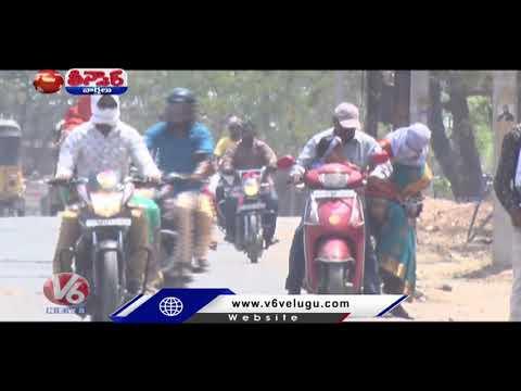 Unseason Rains In Hyderabad | Crops Damaged | V6 Teenmaar News