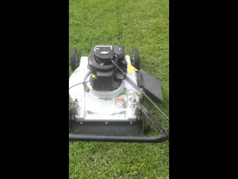 Mower revs up and down????? Update... needed new spark plug