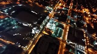 Downtown fort wayne indiana at night