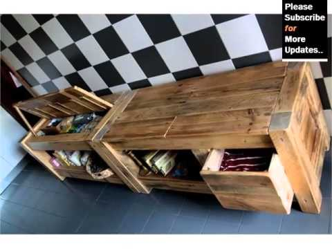 Pic Of Furniture Made By Using Pallet - Ideas | Pallets ...