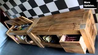 Pic Of Furniture Made By Using Pallet - Ideas | Pallets Furniture Kitchen