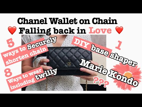 Chanel || Wallet on Chain || How to Shorten Chain || DIY Base Shaper || Make it Functional