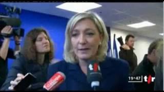 Marine Le Pen souhaite rencontrer Oskar Freysinger