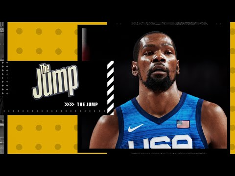 Reacting to Kevin Durant's comments on Team USA's chemistry  The Jump