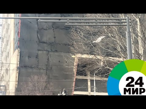 На Тбилиси летит ураганный ветер со скоростью 34 м/с - МИР 24
