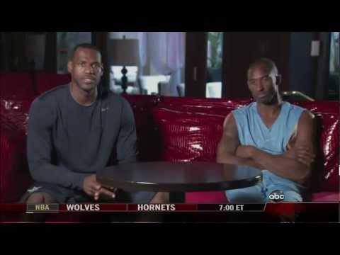 Kobe and Lebron Interview Together HD