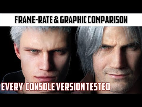 Devil May Cry 5 | Complete Demo Analysis on PRO|X1X|PS4|X1S thumbnail