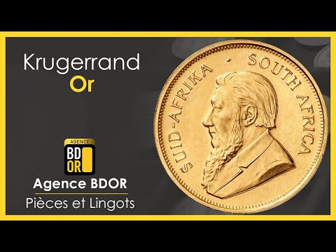 Krugerrand - Pièce en Or d'Afrique du Sud - Prix Achat Vente - Agence BDOR