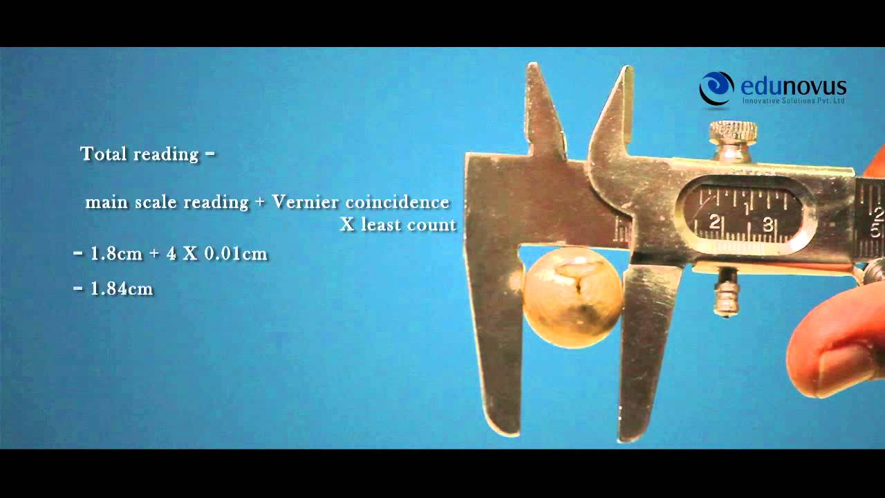 Vernier Callipers Experiment(Volume of Sphere and Cylinder) by Edunovus