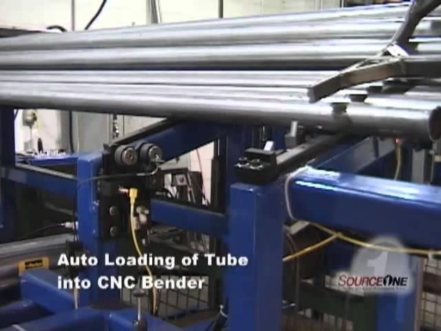 SourceOne Tube Loading Machine