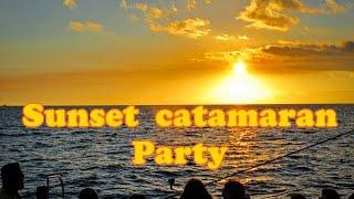 Sunset Catamaran Party - Madeira Island