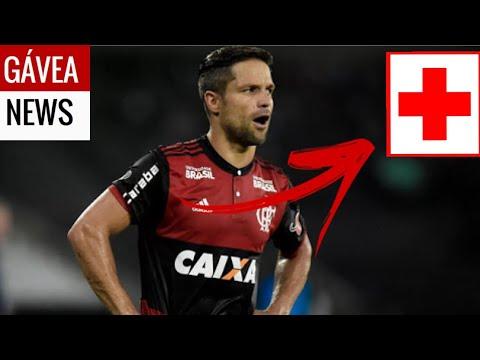 Diego é desfalque de última hora no Flamengo