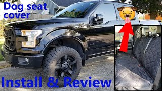 Best dog seat cover for my F150. 4Knines!