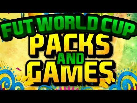 FIFA WORLD CUP PACK OPENING + FIRST GAME!!! | FIFA 14 Ultimate Team