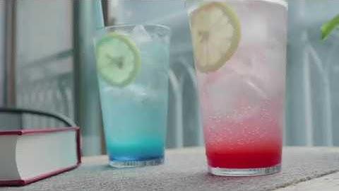 하와이 못가본 억울함에 만들어 본 여름 대표음료 블루레몬에이드 &핑크레몬에이드 만들기