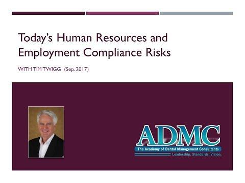 HR and Employment Compliance Risks (ADMC.net)