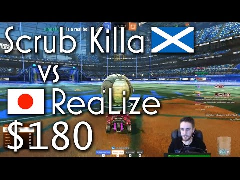 Scrub Killa (Rank 1 World) vs Pulse ReaLize (Rank 1 Japan) | $180 1v1 Showmatch