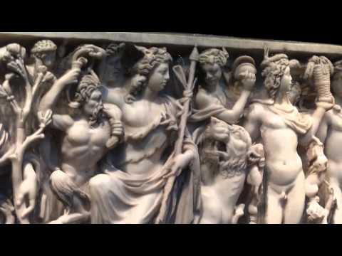 Dionysus Sarcophagus in Metropolitan Museum