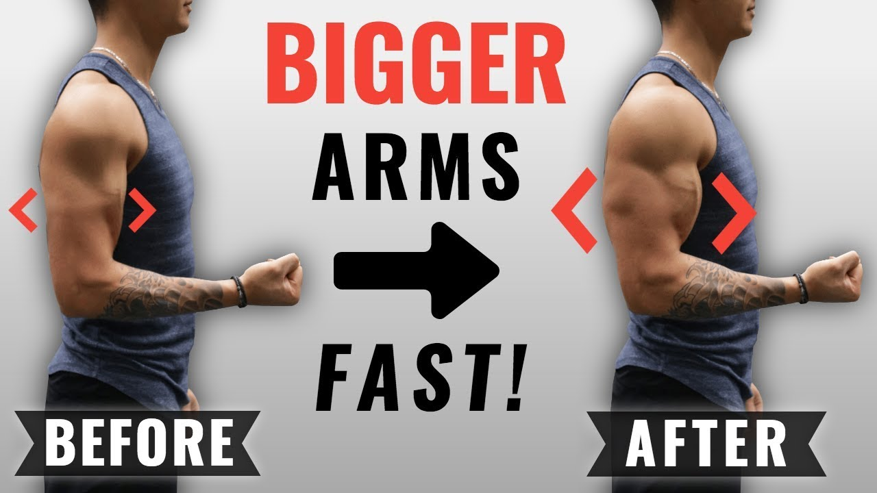 How To Get Bigger Arms Fast 4 Science Based Tips Youtube