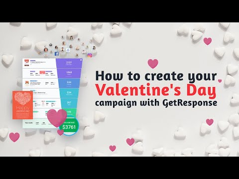 How to create your Valentine's Day campaign with GetResponse