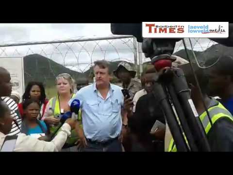 Lily Mine Operations Director, Mike Begg, Describes What Happened During The Collapse Incident