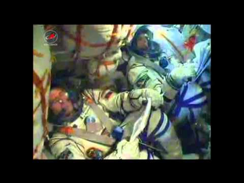 Soyuz Launches to Space Station