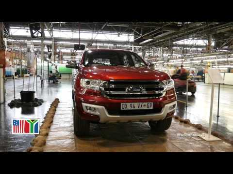 U.S. Ambassador to South Africa Visits Ford Assembly Plant