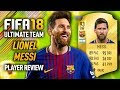 FIFA 18 LIONEL MESSI (93) PLAYER REVIEW! FIFA 18 ULTIMATE TEAM!