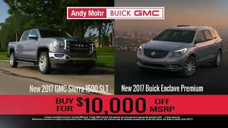 Andy Mohr Buick GMC TV Commercial | October 2017 | Indianapolis, Indiana