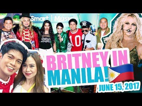 BRITNEY SPEARS IN MANILA! JUNE 15,2017