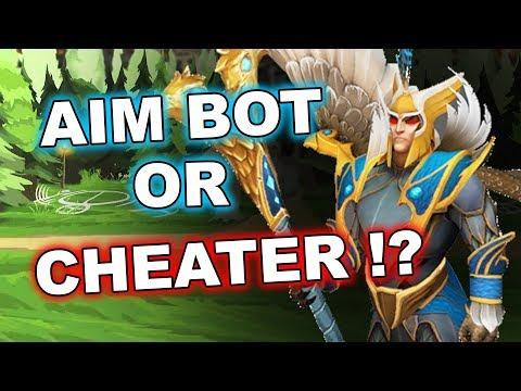 Dota 2 Cheaters: SCRIPTS or AIM BOT on Skywrath Mage!