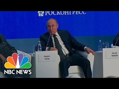 Putin On Ukraine Call: President Donald Trump Opponents Are 'Using Any Pretext To Attack' | NBC News