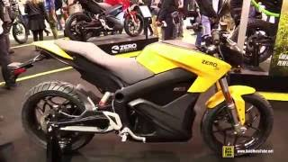2016 Zero S ZF 13.0 Streetfighter Electric Bike - Walkaround - 2015 EICMA Milan