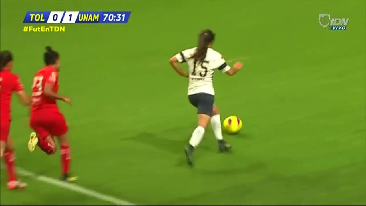 Toluca Femenil 0-1 Pumas Femenil | J12 CL18 | Liga MX Femenil