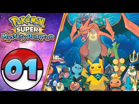 Pokemon Super Mystery Dungeon Gameplay Let's Play Walkthrough Part 1 (Nintendo 3DS)