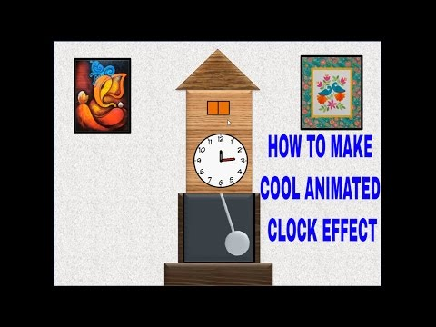 How to make Animated Clock Effect