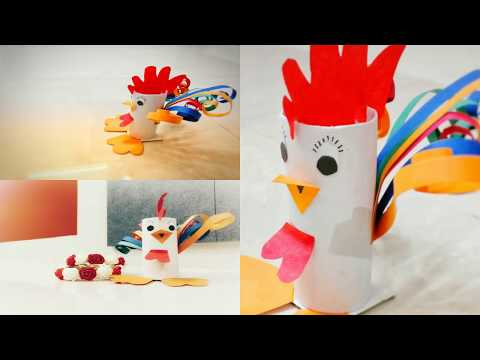 DIY | HOW TO MAKE EASTER CHICK CRAFTS FROM TOILET ROLL | CHICK | THANKSGIVING