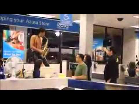 Sexy sax man george michaels prank