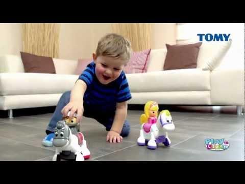 tomy-play-to-learn-ritter-silbersattel-&-prinzessin-sonnenschein