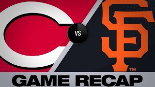 5/10/19: Castillo, Senzel lead the Reds past Giants