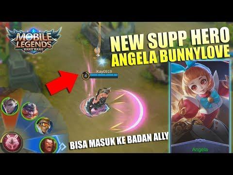 Angela BunnyLove Hero Support Baru Bisa Masuk Ke Badan Ally!!! Gokil Ini Hero - Mobile Legends