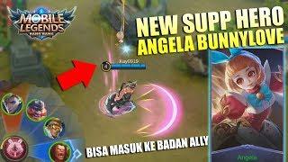 Angela BunnyLove Hero Support Baru Bisa Masuk Ke Badan Ally Gokil Ini Hero - Mobile Legends