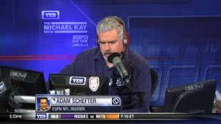 Adam Shefter on Geno Smith getting punched