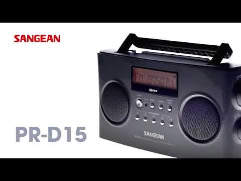 Sangean Portable Radios【PR-D5、PR-D15】FM-Stereo RDS (RBDS) / AM Digital Tuning Portable Receiver
