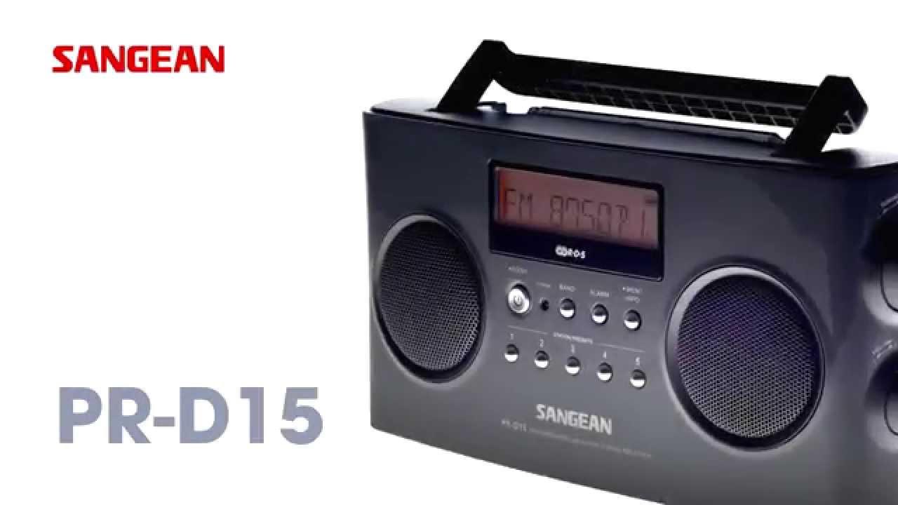 Sangean Portable Radios【PR-D5、PR-D15】FM-Stereo RDS (RBDS) / AM ...