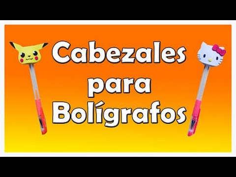Decora bolígrafos con goma eva - decorated pen - YouTube