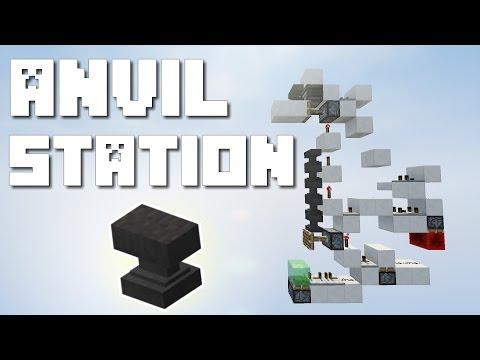 Minecraft: Anvil Refilling Station [1.11 Tutorial]